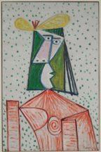 Pablo Picasso - Buste de femme (Portrait de Dora Maar) ©Succession Picasso 2020