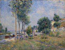 Alfred SisleyEntre Moret et Saint Mammès - Entre Moret et Saint Mammès