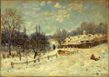 Alfred Sisley - Route de Louvecienne