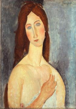 Amedeo Modigliani - Madame Hébuterne aux épaules nues