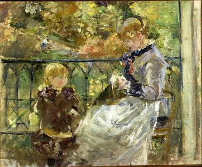 Berthe Morisot - Le Balcon