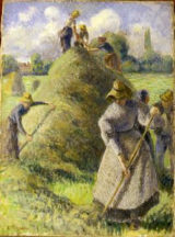 Camille Pissarro - La Fenaison, Eragny
