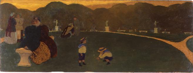 Felix Vallotton - Le soir, ou le Jardin du Luxembourg