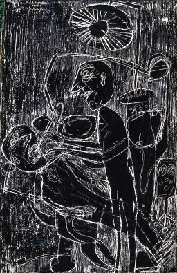 Jean Dubuffet - Dentiste