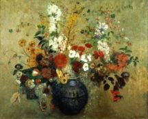 Odilon Redon - Bouquet de fleurs