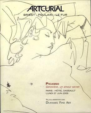 - Collection of drawings of Geneviève Laporte ©Succession Picasso 2020