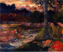 Paul Gaugin - Tahitiennes au bord de l'eau