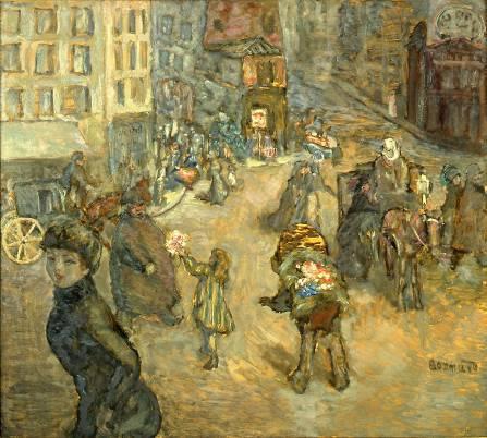 Pierre Bonnard - La Marchande de fleurs, Paris