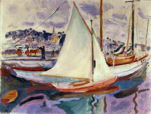 Raoul Dufy - La Voile Blanche