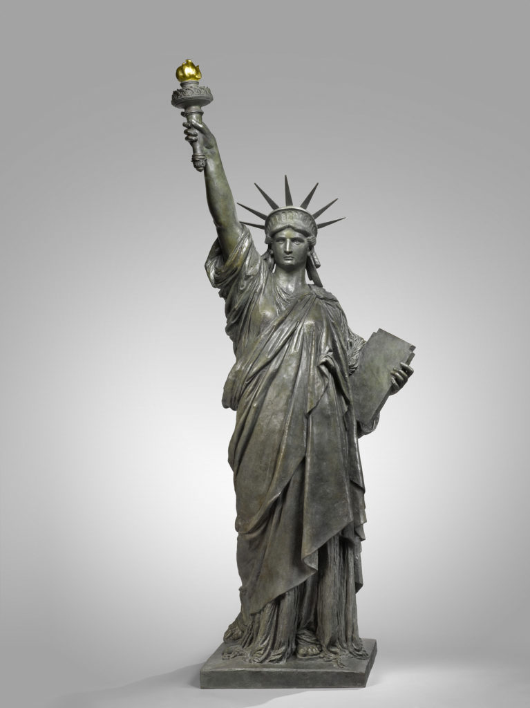 FRÉDÉRIC-AUGUSTE BARTHOLDI - Liberty enlightening the world