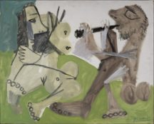 5 - Nu et musicien assis, 1967 ©Succession Picasso 2020