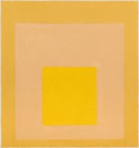 JOSEF ALBERS - Study for Homage to the Square: Desert Glow, I, 1956 / NOT FOR SALE