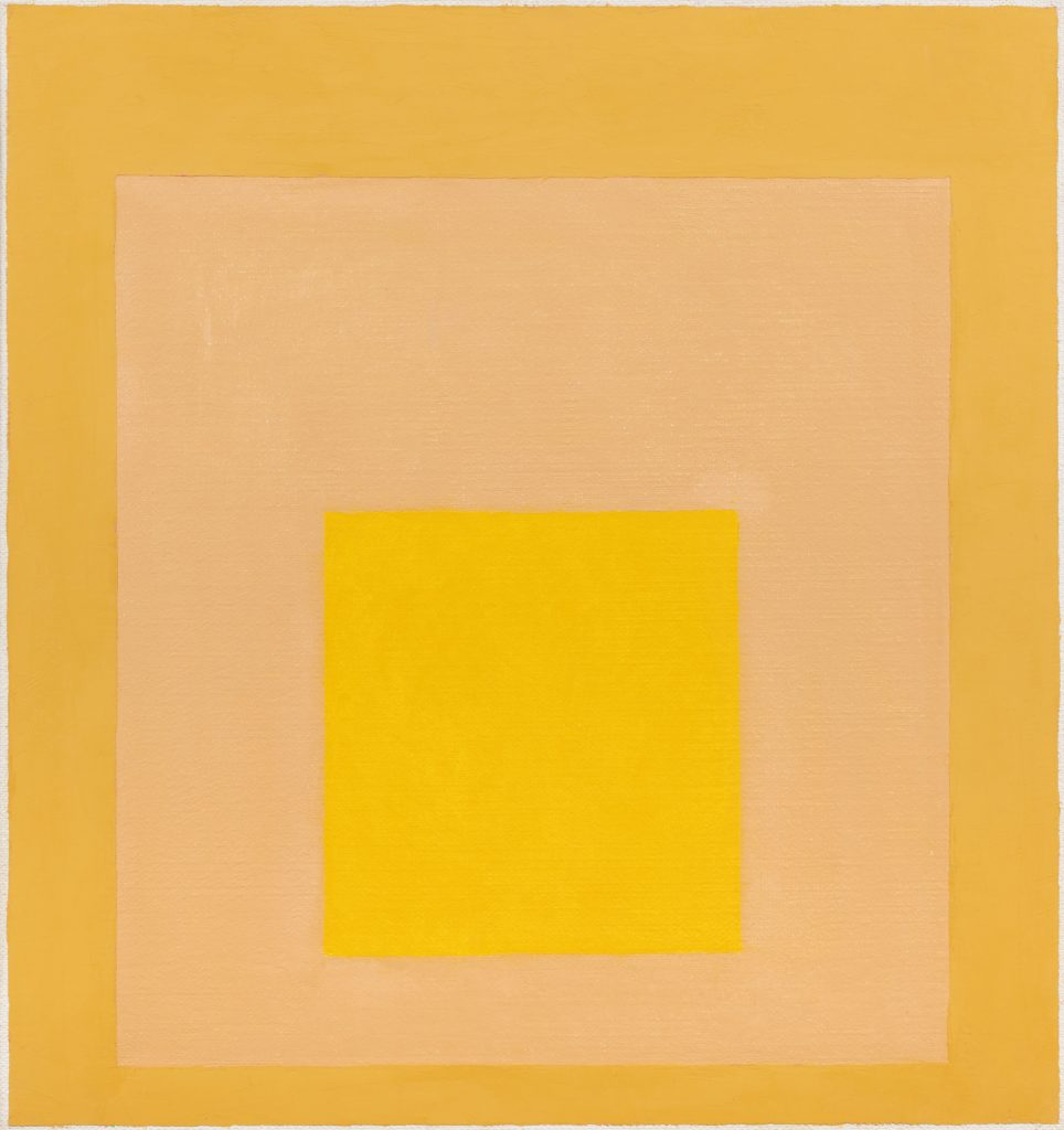 - Study for Homage to the Square: Desert Glow, I, 1956 / NOT FOR SALE